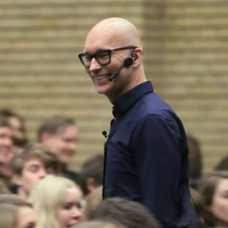 Mathias Valentino er foredragsholder